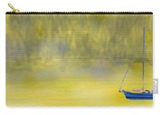 Sailboat On A Yellow Sea Carry-all Pouch