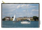 Sailboat On Lake Ontario Near Old Fort Niagara 2 Carry-all Pouch