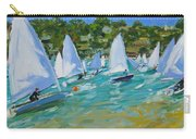 Sailboat Race Carry-all Pouch by Andrew Macara
