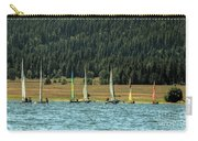 Sailboat Regatta Cascade Lake Carry-all Pouch