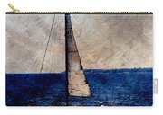 Sailboat Slow W Metal Carry-all Pouch