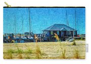 Sailboats Boat Harbor - Quiet Day At The Harbor Carry-all Pouch