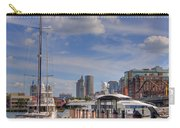 Sailboats In Constitution Marina - Boston Carry-all Pouch by Joann Vitali