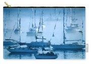 Sailboats In The Fog II Carry-all Pouch
