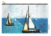 Sailboats In The Harbor Carry-all Pouch