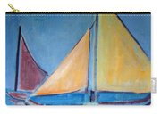 Sailboats With Red And Yellow Sails Carry-all Pouch