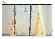 Sailing At Daytona Carry-all Pouch