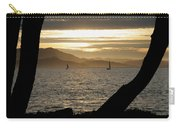 Sailing At Sunset On The Bay Carry-all Pouch