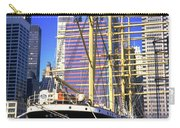 Sailing Boat Anchored In South Street Seaport 1984 Carry-all Pouch