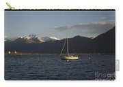 Sailing Boat On An Alpine Lake Carry-all Pouch