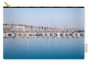 Sailing Boats In The Howth Marina Carry-all Pouch