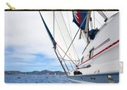 Sailing Bvi Carry-all Pouch by Adam Romanowicz