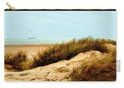 Sailing By Sand Dune Carry-all Pouch