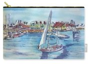 Sailing By Shoreline Village Carry-all Pouch