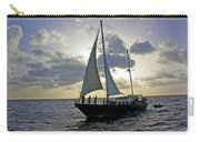 Sailing In Aruba Carry-all Pouch