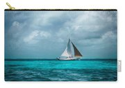 Sailing In Blue Belize Carry-all Pouch
