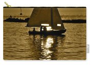 Sailing In Sepia Carry-all Pouch