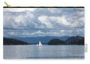 Sailing In The San Juans Carry-all Pouch by Carol Groenen
