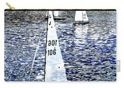 Sailing On Blue Carry-all Pouch