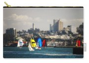 Sailing On The Bay Carry-all Pouch