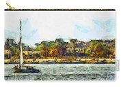 Sailing On The Nile Carry-all Pouch