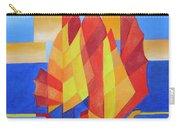 Sailing On The Seven Seas So Blue Carry-all Pouch by Tracey Harrington-Simpson