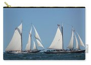 Sailing Ship In The Ocean At Gloucester Carry-all Pouch