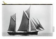 Sailing Ship Ketch, 1876 Carry-all Pouch