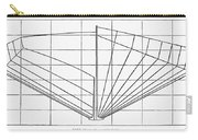 Sailing Ship: Plan, 1882 Carry-all Pouch