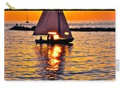 Sailing Silhouette Carry-all Pouch
