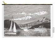 Sailing Mount Hood Oregon Carry-all Pouch