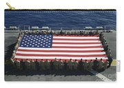 Sailors And Marines Display Carry-all Pouch by Stocktrek Images
