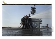 Sailors Conduct Hose Team Training Carry-all Pouch