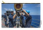 Sailors Load Rim-7 Sea Sparrow Missiles Carry-all Pouch