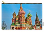 Saint Basil Cathedral In Red Square In Moscow- Russia Carry-all Pouch