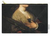 Saint Catherine Carry-all Pouch