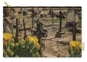 Saint Dominic Cemetery At Old D'hanis Texas Carry-all Pouch