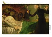 Saint Francis Borgia Helping A Dying Impenitent Carry-all Pouch