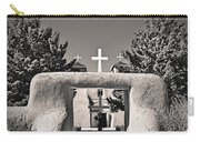 Saint Francis In Sepia Gold Carry-all Pouch