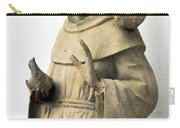 Saint Francis Of Assisi Statue With Birds Carry-all Pouch