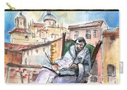 Saint John Of The Cross In Salamanca Carry-all Pouch