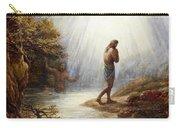 Saint John The Baptist Carry-all Pouch
