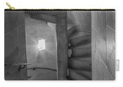 Saint John The Divine Spiral Stairs Bw Carry-all Pouch