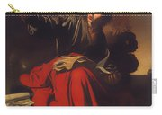 Saint John The Evangelist At Patmos Carry-all Pouch