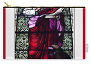 Saint John The Evangelist Stained Glass Window Carry-all Pouch
