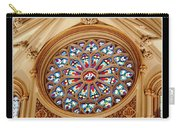 Saint Josephs Cathedral Stained Glass Window Buffalo New York Carry-all Pouch