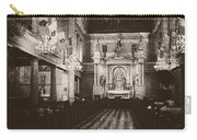 Saint Louis Cathedral New Orleans Black And White Carry-all Pouch