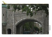 Saint Louis Gate In Ramparts Of Quebec City Carry-all Pouch