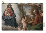 Saint Luke Carry-all Pouch