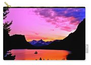 Saint Mary Lake Twilight Carry-all Pouch